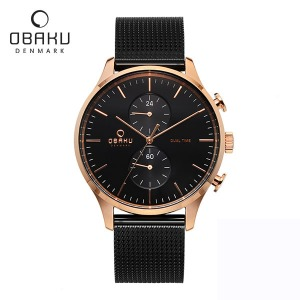 [오바쿠 OBAKU] GRAN NIGHT (V196GUVBMB) 43mm